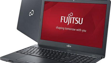 Fujitsu Lifebook A555, černá - VFY:A5550M43SOCZ