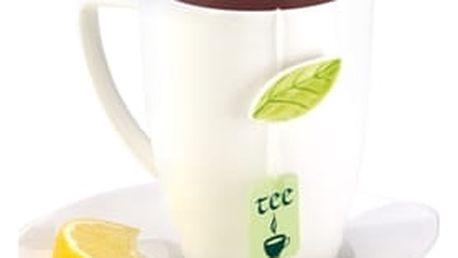 TESCOMA hrnek na čaj s podšálkem YASMIN 450 ml