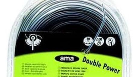 Struna dvouvrstvá DOUBLE POWER 2x30m (60195)