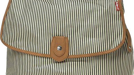 BABYMEL Přebalovací taška Satchel námořní proužek