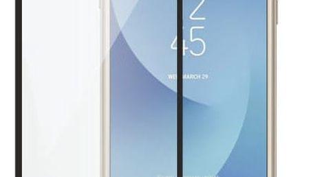 ScreenShield ochrana displeje Tempered Glass pro Samsung J330 Galaxy J3 (2017), černá - SAM-TGJ330-D