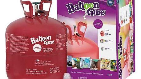 Helium Balloon Time + 50 balónků + Doprava zdarma
