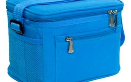TESCOMA termobrašna s gelovým chladičem COOLBAG, 2 dózy, modrá