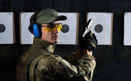2 střelecké balíčky: 27/63 nábojů a 5/10 zbraní