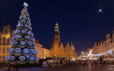 Celodenní zájezd pro 1 na vánoční trhy do polské Vratislavi s prohlídkou města
