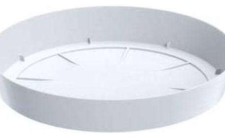 Prosperplast Lofly saucer 23 cm bílá