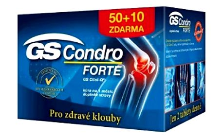 GS Condro Forte 50 + 10 tablet