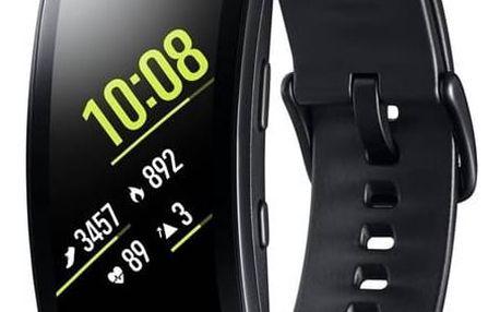 Fitness náramek Samsung Gear Fit2 Pro vel. L (SM-R365NZKAXEZ) černý + Doprava zdarma