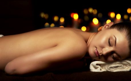Hloubková relaxační masáž ve tmě v délce 60 minut