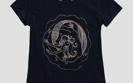 Tričko O´Neill LG MERMAID BAY T-SHIRT Černá