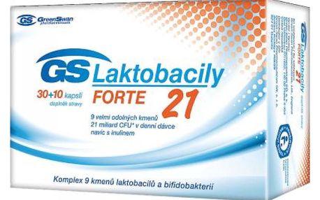 GS Laktobacily Forte21 40 cps.