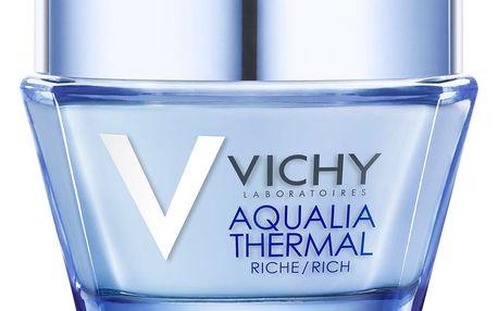 VICHY Aqualia Thermal Riche 50ml + Vichy Pureté Thermale 3v1 micelární voda 100 ml ZDARMA