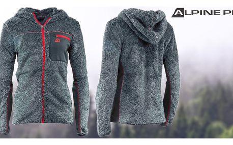 Dámská mikina Alpine Pro s hřejivým kožíškem