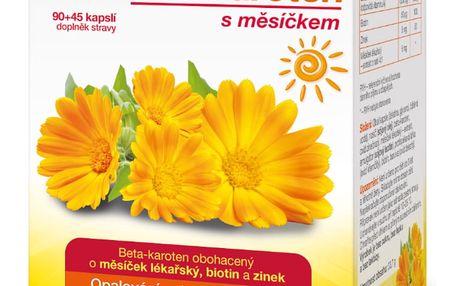 GS Betakaroten s měsíčkem 90+45 kapslí výprodej