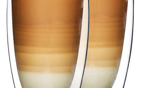 4Home Termo sklenice na latté Hot&Cool 410 ml, 2 ks