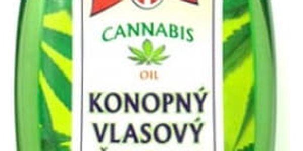 Konopný vlasový šampon