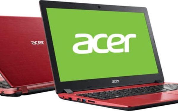 Acer Aspire 3 (A315-51-31XP), červená - NX.GS5EC.002
