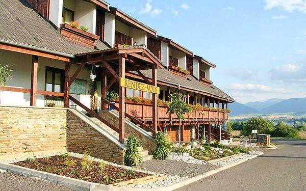 Liptovský region pohodově: ubytování v 3* hotelu s polopenzí a vstupem do sauny