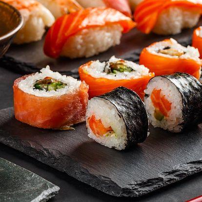 24 nebo 38 ks sushi od zkušeného kuchaře