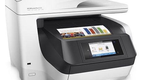 Tiskárna multifunkční HP 8720 (D9L19A#A80) bílý + DOPRAVA ZDARMA
