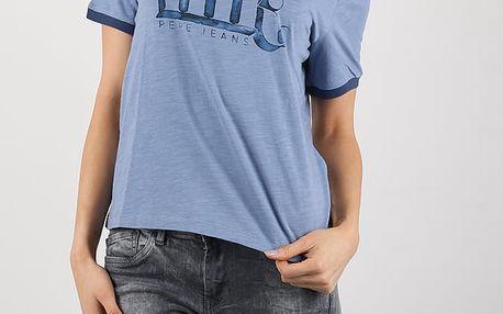 Tričko Pepe Jeans AITANA Modrá