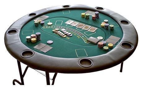 Garthen 999 Profesionální rozkládací pokerový stůl