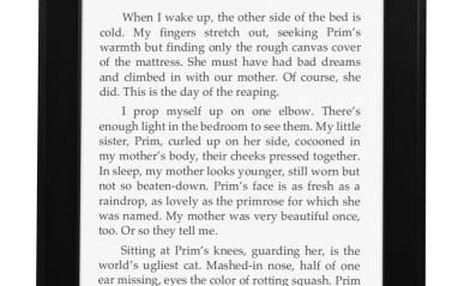 Čtečka e-knih Amazon KINDLE PAPERWHITE 3 s reklamou černá