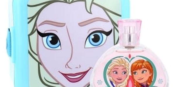 Disney Frozen dárková kazeta toaletní voda 100 ml + plastová krabička
