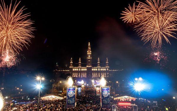 Oslavte Silvestr ve Vídni s hudbou a ohňostrojem