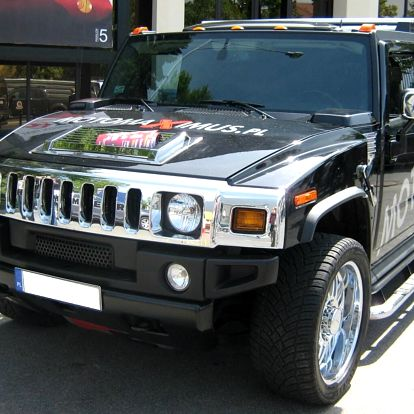 Jízda s terénním autem Hummer H2