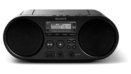 Radiopřijímač s CD Sony ZS-PS50 černý