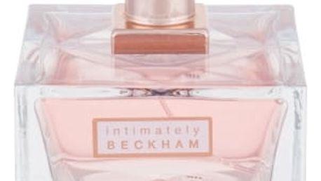 David Beckham Intimately Women 75 ml toaletní voda tester pro ženy