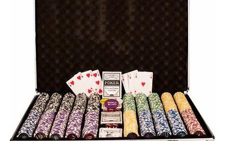 Garthen 497 Poker set 1000 ks žetonů OCEAN hodnoty 5 - 1000