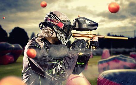 Paintball s originálním scénařem vč. výbavy a munice