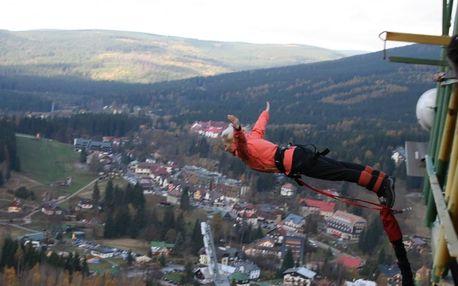 Bungee Jumping v Harrachově