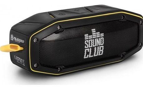GoClever Sound Club Rugged mini, černá/žlutá
