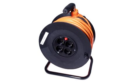 PremiumCord Kabel napájecí 230V, flexo koncovka, 2m