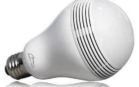 LED žárovka MediaTech MT3147 s BT reproduktorem