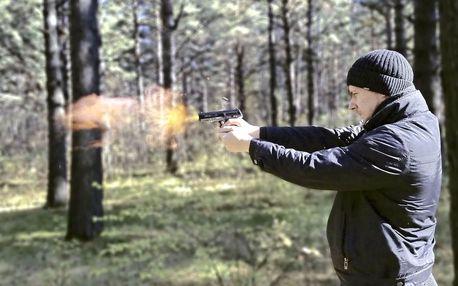 Nabušený program na střelnici s 5 zbraněmi