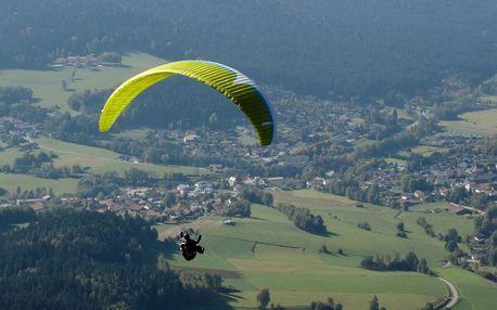 Tandemový paragliding v Beskydech