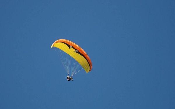 Tandemový paragliding v Beskydech pro dva2