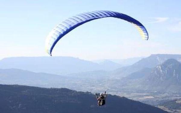 Tandemový paragliding v Beskydech pro dva3