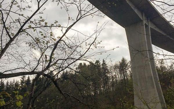 Bungee seskok z nejvyššího mostu v ČR pro 2 osoby2