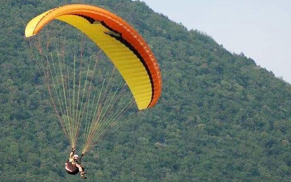 Tandemový paragliding v Beskydech pro dva4