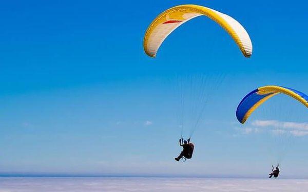 Tandemový paragliding v Beskydech pro dva5