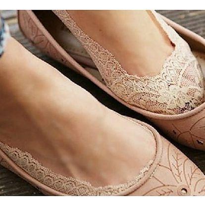 Krajkové ponožky do balerín Esmeé!