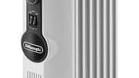 Olejový radiátor DeLonghi Radia-S TRRS0715 bílý + Doprava zdarma