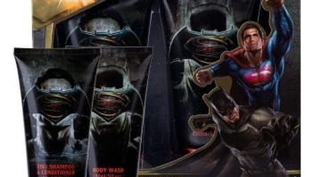 DC Comics Batman v Superman dárková kazeta sprchový gel 150 ml + šampon & kondicionér 2v1 150 ml