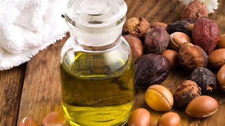 Arganový olej na vlasy i pleť jemně parfemovaný 100ml, cenný elixír.