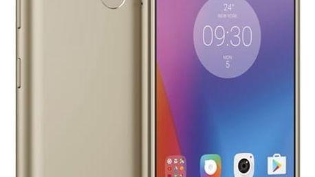 Mobilní telefon Lenovo K6 Dual SIM (PA530098CZ) zlatý + DOPRAVA ZDARMA